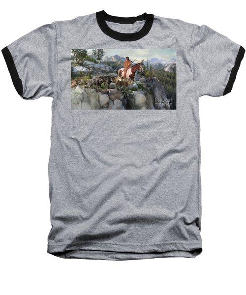 Wolf Maiden Baseball T-Shirt
