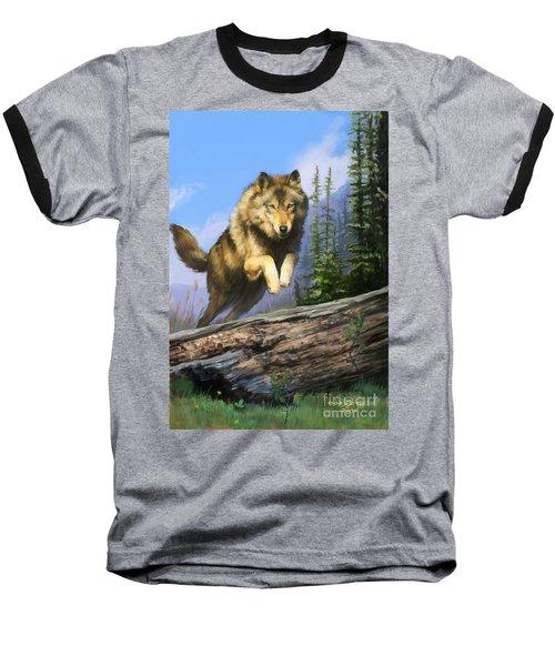 Wolf Run Baseball T-Shirt
