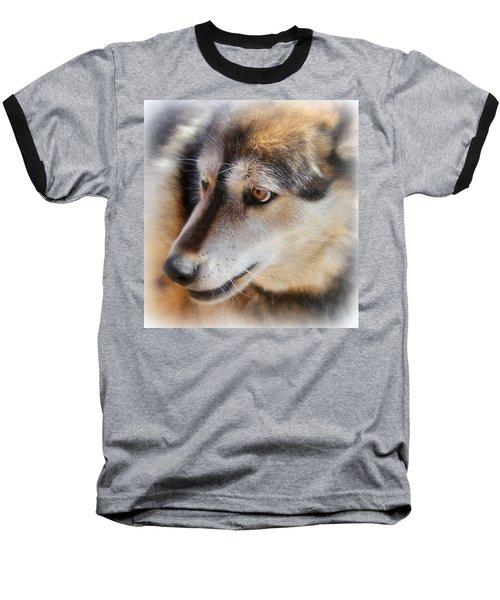 Wolf Spirit Baseball T-Shirt