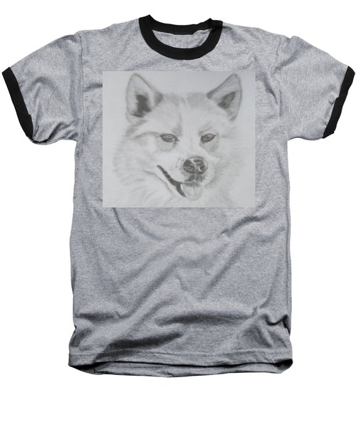 Wolf The Husky Baseball T-Shirt