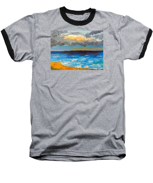 Wollongong Beach Baseball T-Shirt