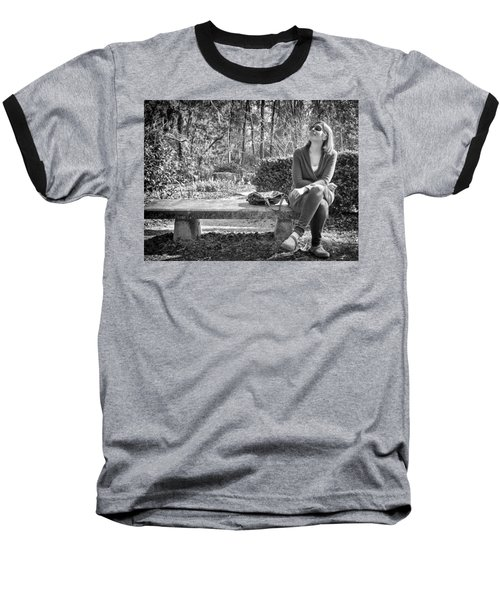 Baseball T-Shirt featuring the photograph Wonder by Howard Salmon