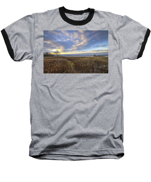 Wonderful Sunset Baseball T-Shirt
