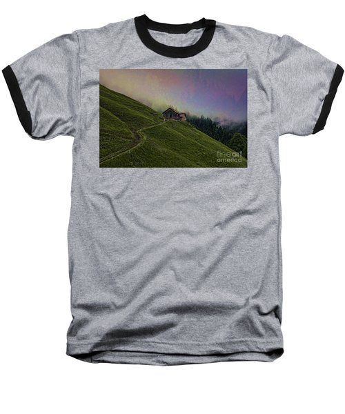 Wonderland-2 Baseball T-Shirt