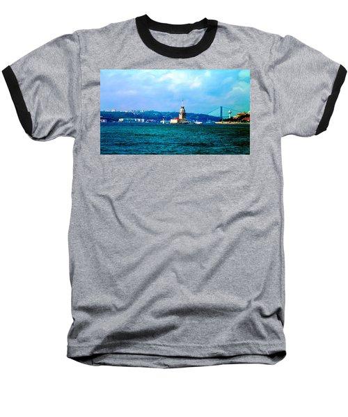 Wonders Of Istanbul Baseball T-Shirt