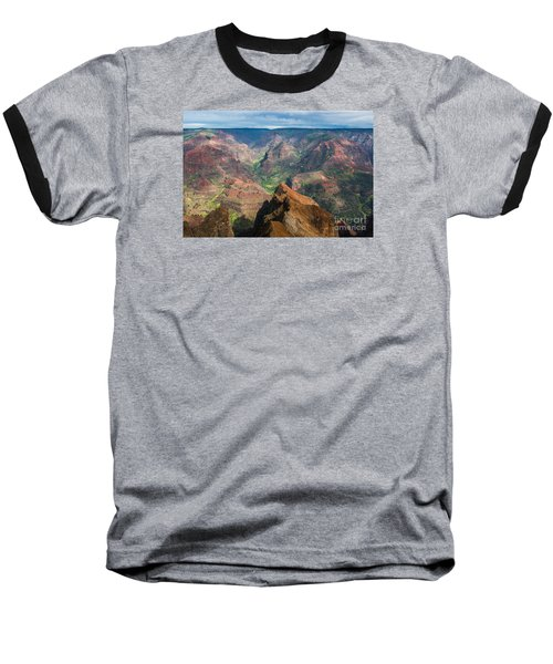 Baseball T-Shirt featuring the photograph Wonders Of Waimea by Suzanne Luft