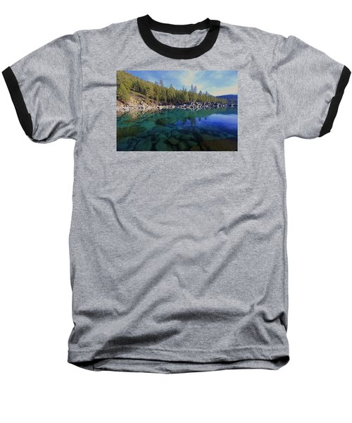 Baseball T-Shirt featuring the photograph Wondrous Waters by Sean Sarsfield