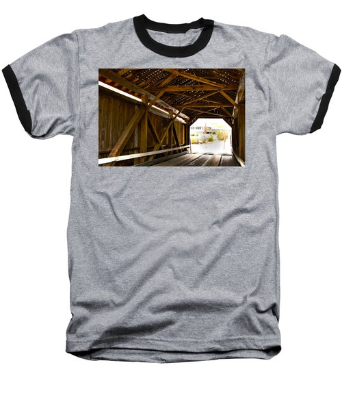 Wood Fame Bridge Baseball T-Shirt