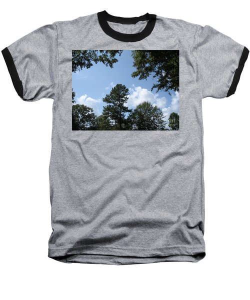 Wooded Forest  Baseball T-Shirt