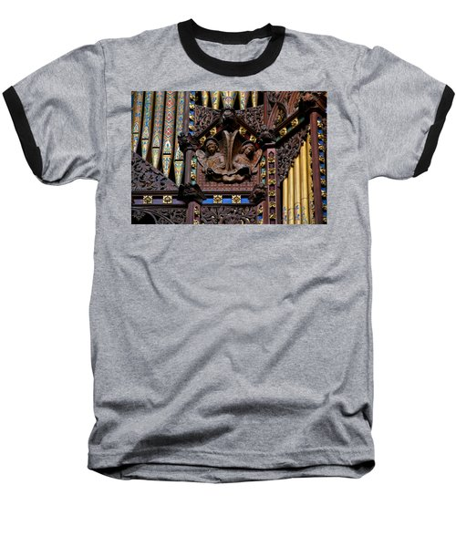 Wooden Angels Ely Cathedral Baseball T-Shirt