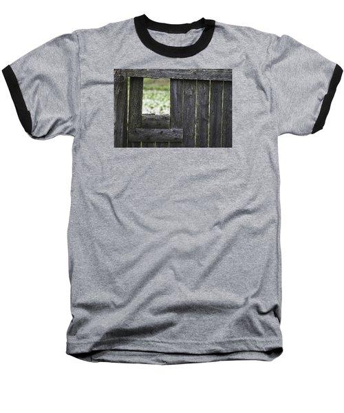 Wooden Blind Baseball T-Shirt