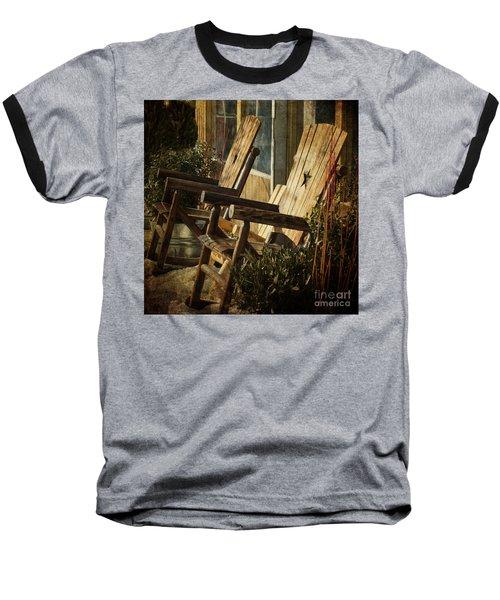 Wooden Chairs Baseball T-Shirt