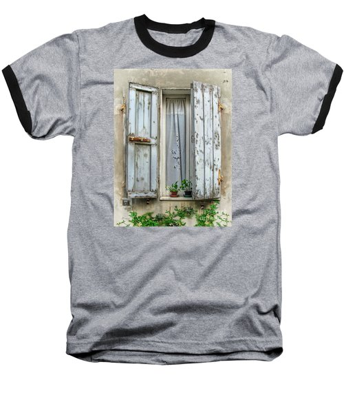 Wooden Shutters In Urbino Baseball T-Shirt