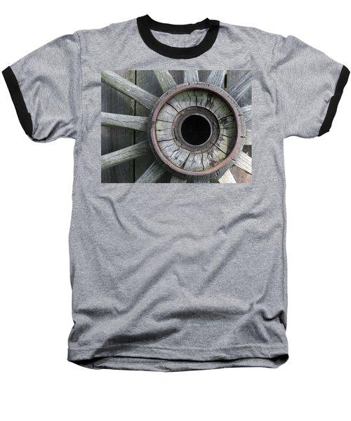 Wooden Wheel Baseball T-Shirt