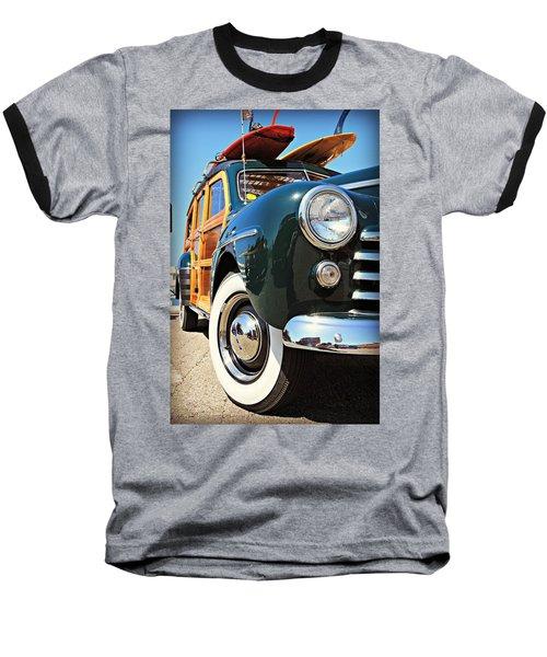 Woodie On The Wharf Baseball T-Shirt