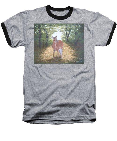 Woodland Encounter Baseball T-Shirt
