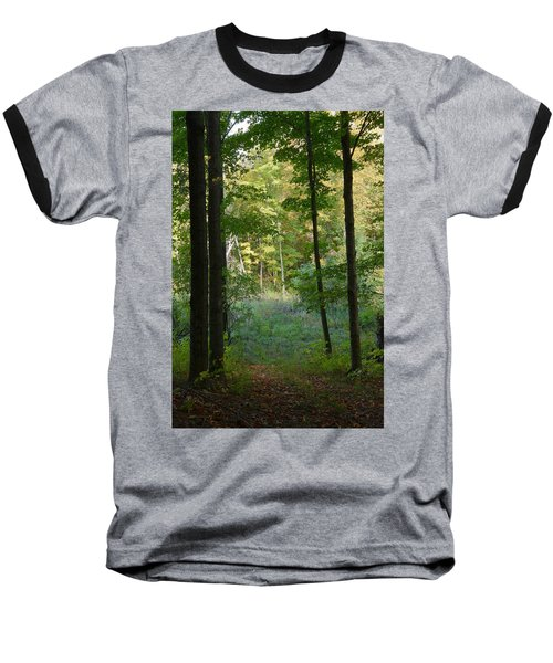 Woodland Path Baseball T-Shirt