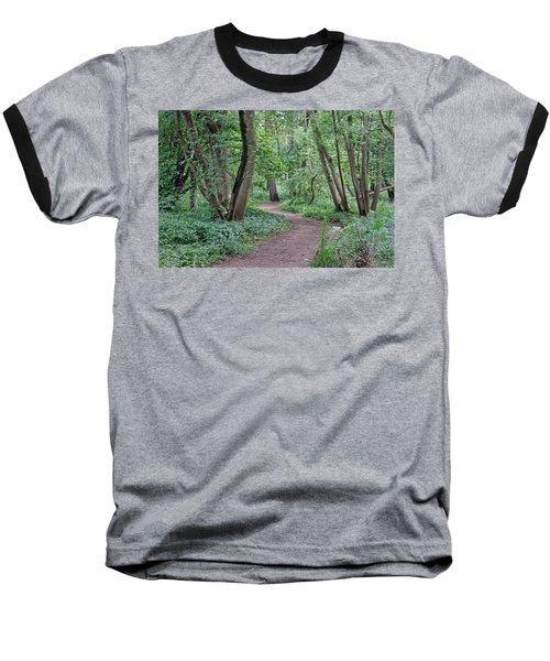 Woodland Path  Baseball T-Shirt