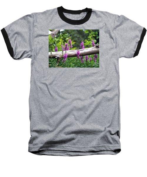 Woodland Treasures Baseball T-Shirt by Susan  Dimitrakopoulos
