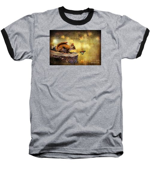 Baseball T-Shirt featuring the photograph Woodland Wonder by Lois Bryan