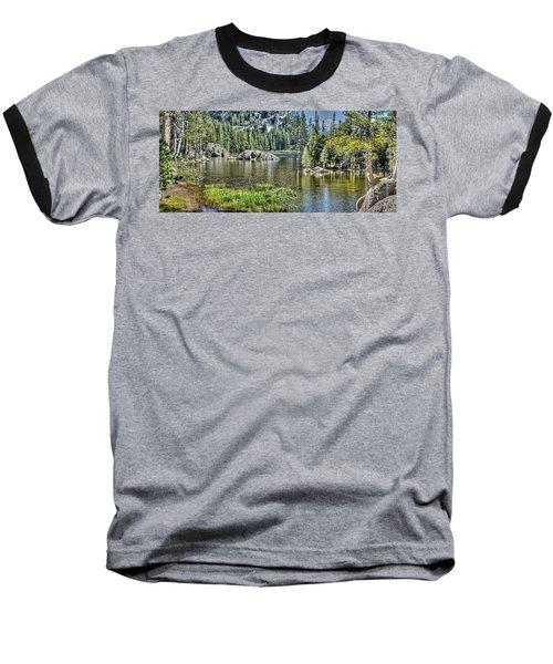Woods Lake 2 Baseball T-Shirt