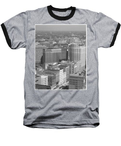 Woodward Avenue Bw Baseball T-Shirt