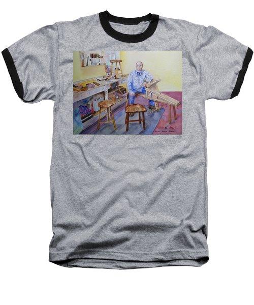 Woodworker Chair Maker Baseball T-Shirt