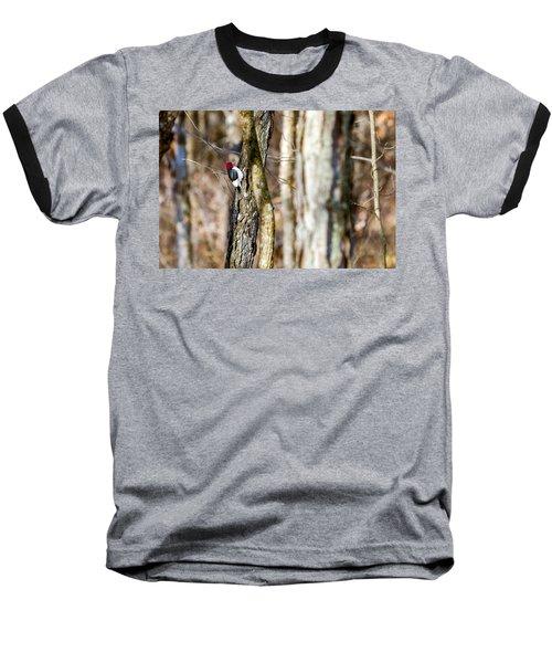 Baseball T-Shirt featuring the photograph Woody by Sennie Pierson