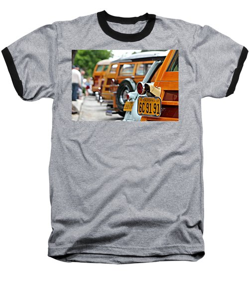 Woodys On Ocean Avenue  Baseball T-Shirt