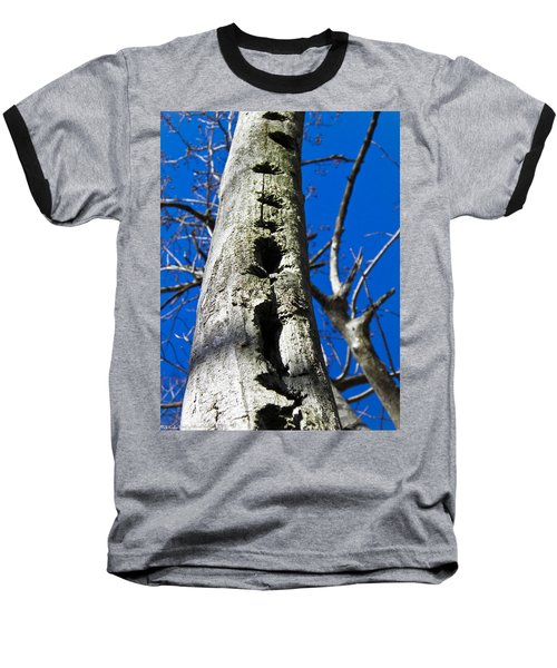 Baseball T-Shirt featuring the photograph Woody's Paradise by Nick Kirby