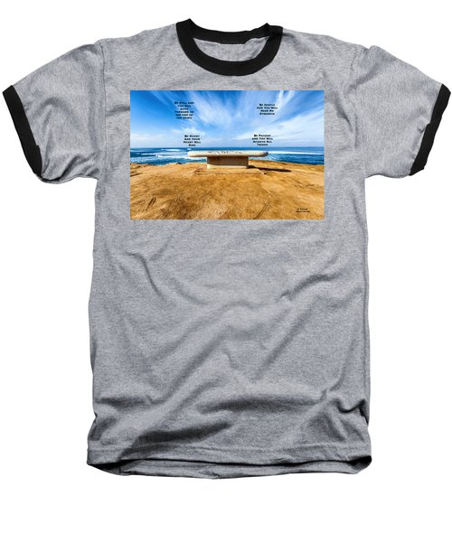 Words Of Wisdom Baseball T-Shirt
