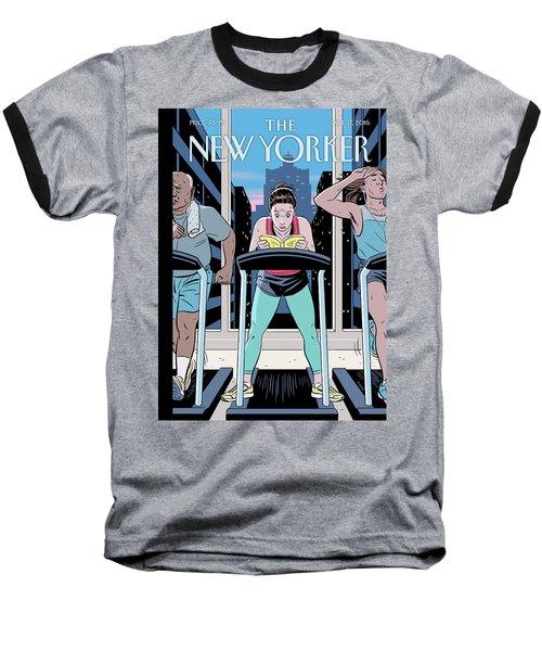 Workout Reading Baseball T-Shirt