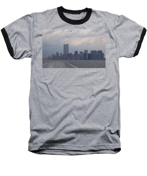 World Trade Center May 2001 Baseball T-Shirt