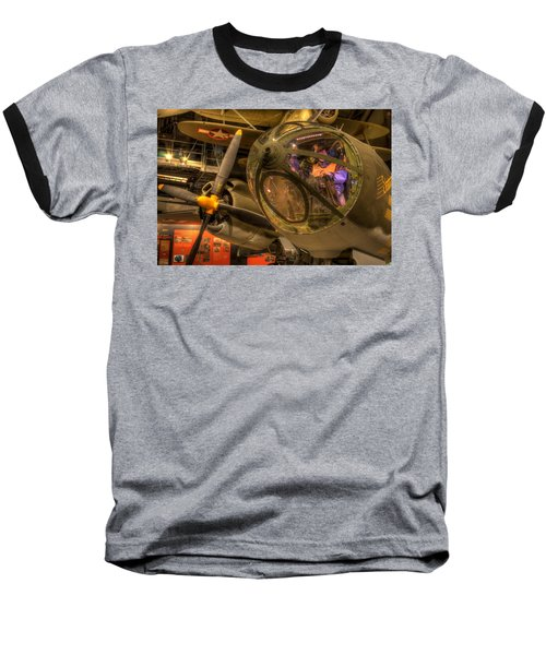 World War 2 Bomber Baseball T-Shirt