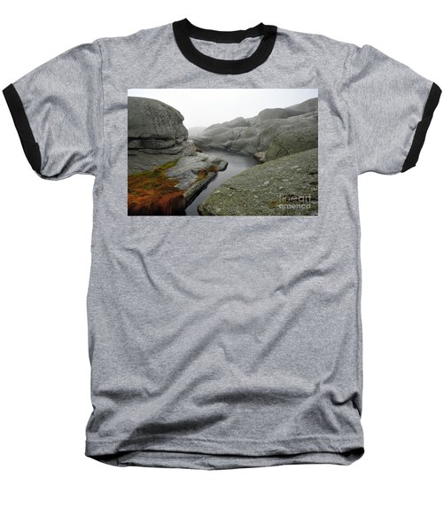 Baseball T-Shirt featuring the photograph World's End 1 by Randi Grace Nilsberg