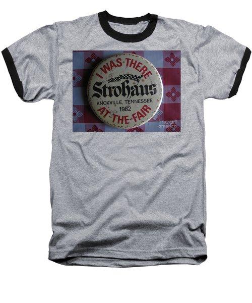 Baseball T-Shirt featuring the photograph Worlds Fair by Michael Krek