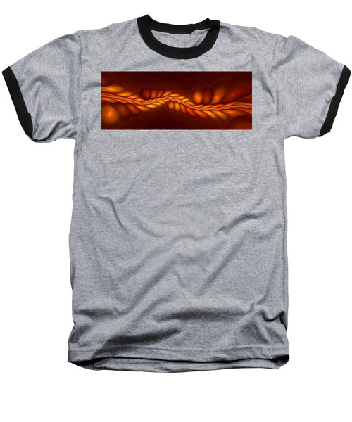 Worm Sign Orange Baseball T-Shirt