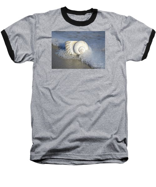 Worn By The Sea Baseball T-Shirt by Kathy Baccari