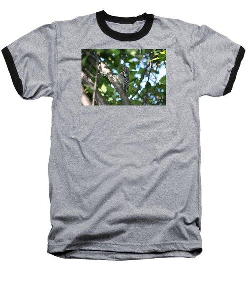 Worn Out Woodpecker Baseball T-Shirt