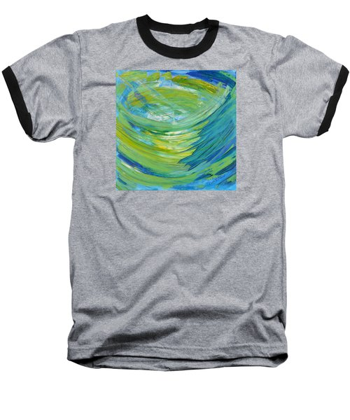 Baseball T-Shirt featuring the painting Worship by Cassie Sears