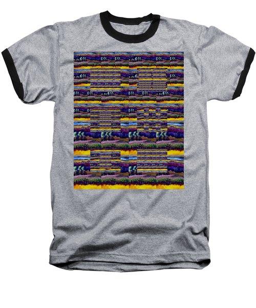 Woven Southwestern Sampler Baseball T-Shirt