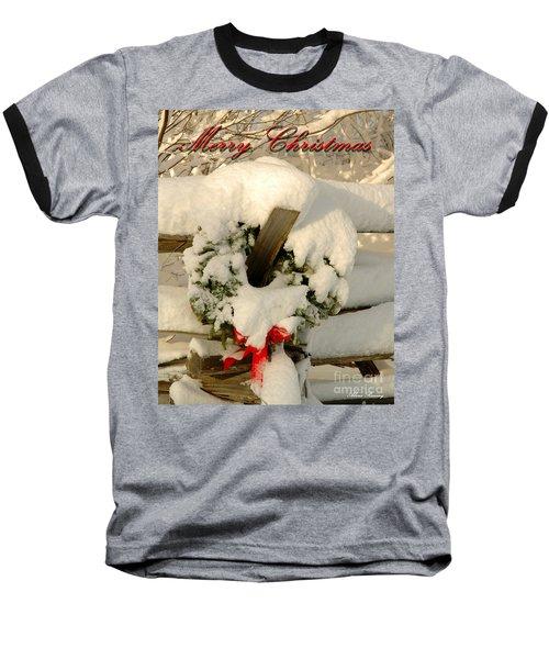 Baseball T-Shirt featuring the photograph Wreath  by Alana Ranney