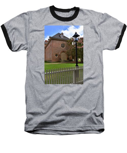 Wren Chapel At William And Mary Baseball T-Shirt by Jerry Gammon