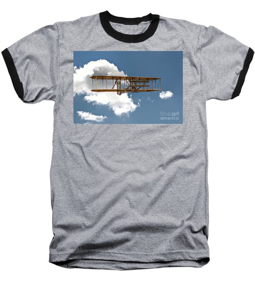 Wright Brothers First Flight Baseball T-Shirt