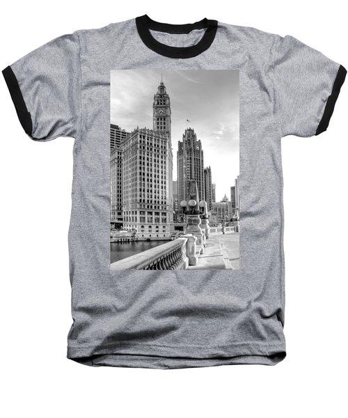 Wrigley And Tribune Baseball T-Shirt