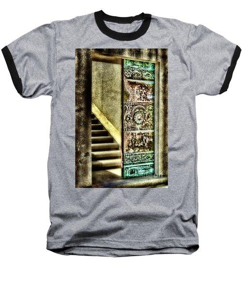 Wrigley's Tower Bronze Doors By Diana Sainz Baseball T-Shirt