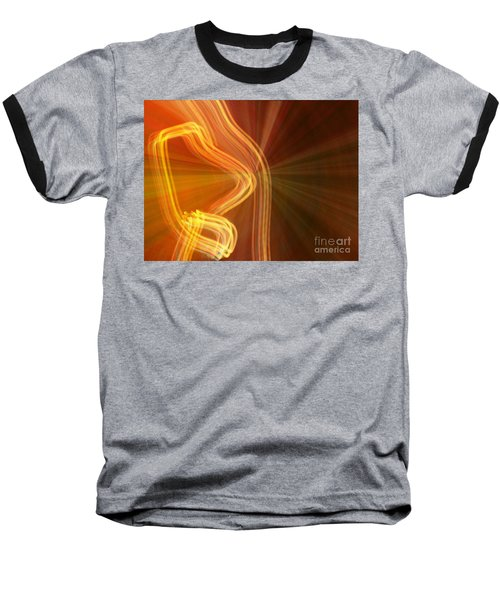 Write Light Shapes Baseball T-Shirt