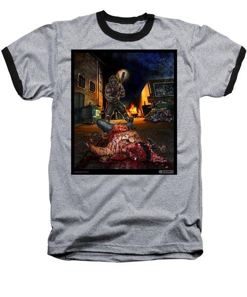 Wrong Turn Baseball T-Shirt