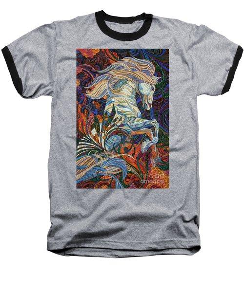 Wuthering Heights Baseball T-Shirt by Erika Pochybova
