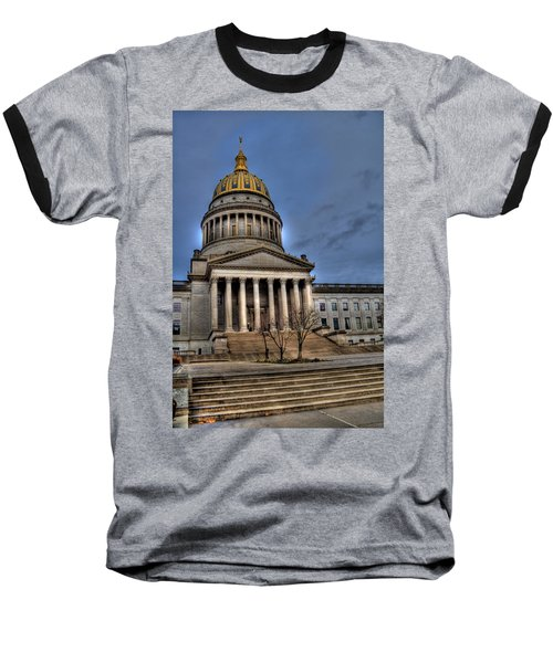 Wv Capital Building 2 Baseball T-Shirt